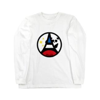 パ紋No.3377 Noriko Long sleeve T-shirts