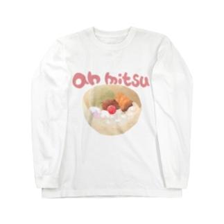 an mitsu Long sleeve T-shirts