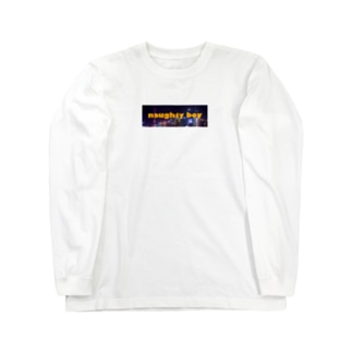naughty boy   city logo Long sleeve T-shirts