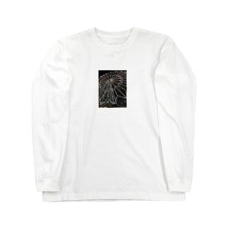 カラフルデザイン Long sleeve T-shirts