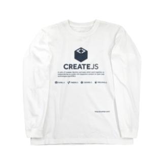 CreateJS Long sleeve T-shirts