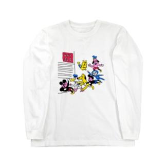 急げ!テンバイヤー Long sleeve T-shirts