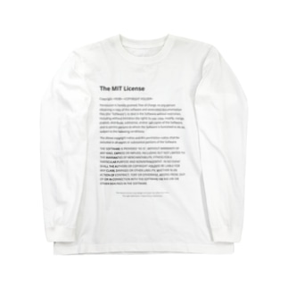 The MIT License Long sleeve T-shirts