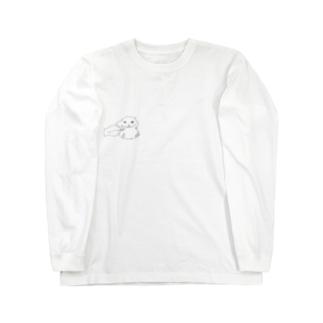 ハムスター Long sleeve T-shirts