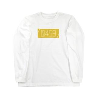0459LOGO(BOX-large) Long sleeve T-shirts