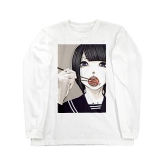 自タン女子 Long sleeve T-shirts