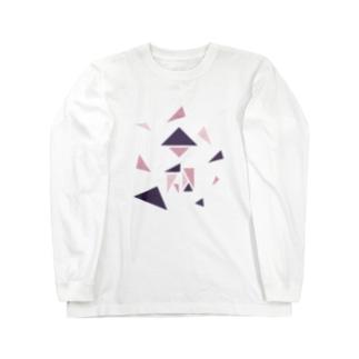 reiwa_triangle Long sleeve T-shirts