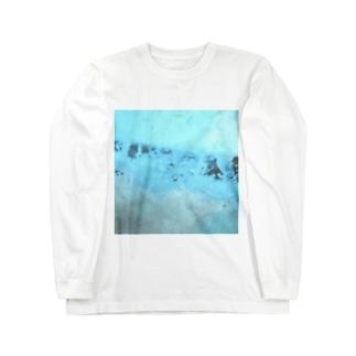 """鯨窓机(第二極地観測所)の""""ストームグラス航空402便"""" Long sleeve T-shirts"""