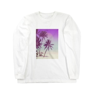 summer vacation Long sleeve T-shirts