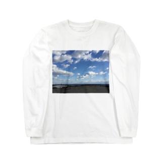 ある日の海 Long sleeve T-shirts