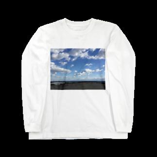健太 下田のある日の海 Long sleeve T-shirts