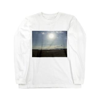 ある日の夏の海2 Long sleeve T-shirts