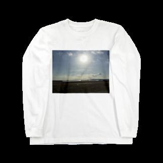 健太 下田のある日の夏の海2 Long sleeve T-shirts