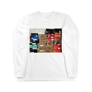 スニーカーヘッズ Long sleeve T-shirts