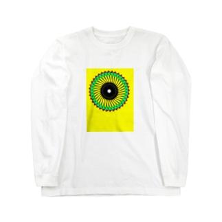 向日葵太陽 Long sleeve T-shirts