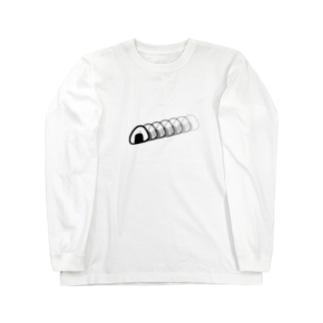すばやいおにぎり Long sleeve T-shirts
