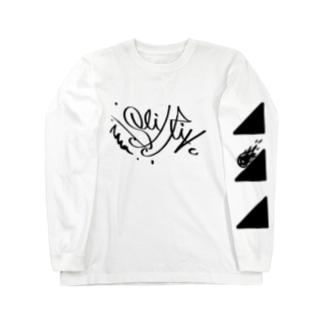 Slidrive(タグ) Long sleeve T-shirts