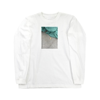 置き去りウィンナー Long sleeve T-shirts
