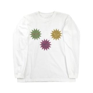 ばい菌三兄弟 Long sleeve T-shirts