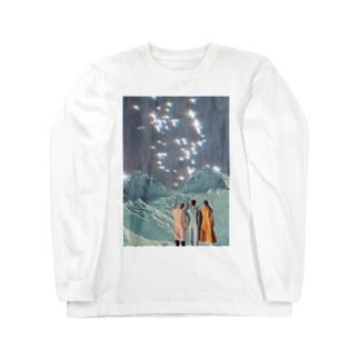 brightest氷山 Long sleeve T-shirts