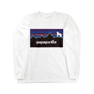 PAPAGORILLA Long sleeve T-shirts