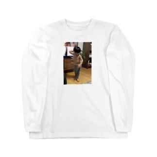 世界の筋肉共鳴Tシャツ Long sleeve T-shirts