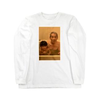 80歳差をイジったときの悲壮顔 Long sleeve T-shirts
