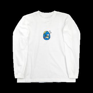 ゆるやかななにかのえびふらい Long sleeve T-shirts