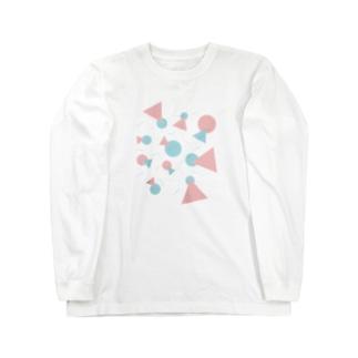 pop_geometry Long sleeve T-shirts