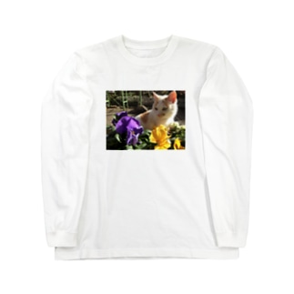ちゃろ Long sleeve T-shirts