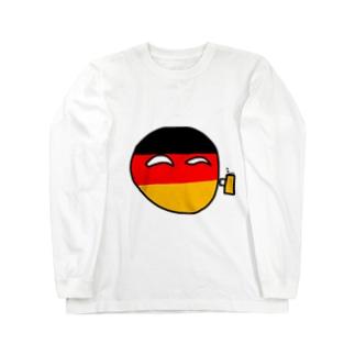 どいつボール(ドイツボール) Long sleeve T-shirts