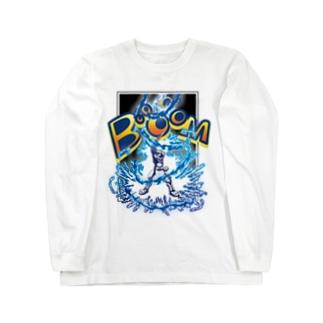 ビリビリギャネック Long sleeve T-shirts
