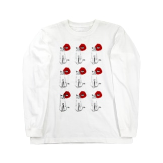 はなとねこ Long sleeve T-shirts