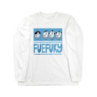 横笛隊~FUEFUKY~ Long sleeve T-shirts