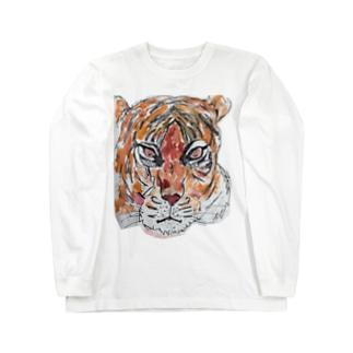 ガオガオガオー Long sleeve T-shirts