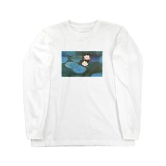 クロード・モネ / 睡蓮 / 1897/ Claude Monet / Water Lilly Long sleeve T-shirts