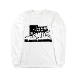 Nekobooks Long sleeve T-shirts