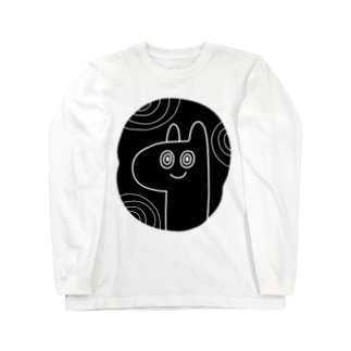 夢見る犬 -INU- Long sleeve T-shirts