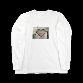 9791のはーとすとーん Long sleeve T-shirts