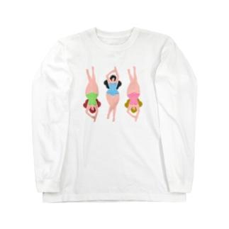 サマースイマー -GIRLS- Long sleeve T-shirts