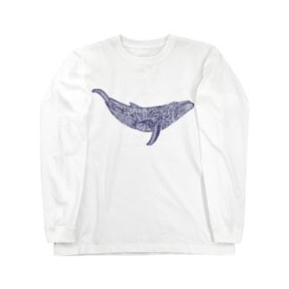 座頭鯨 Long sleeve T-shirts