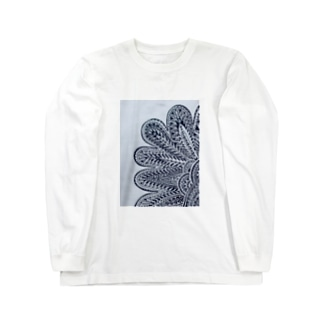 FLOWER OF EARTH Long sleeve T-shirts