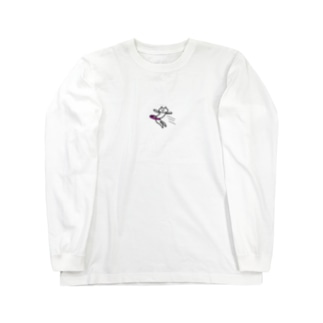 ふらいんぐ NEKO Long sleeve T-shirts