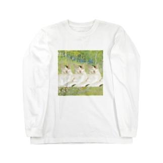 アートにゃんこ。2 Long sleeve T-shirts