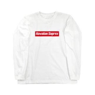 Hawaiian Suprex Box Logo Long sleeve T-shirts