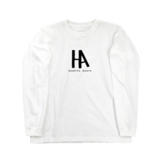 ロゴ達 Long sleeve T-shirts
