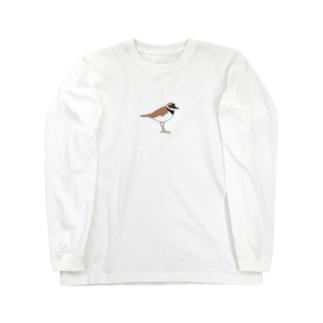 コチドリさん Long sleeve T-shirts