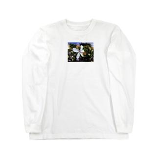 ハイビスカス🌺 Long sleeve T-shirts