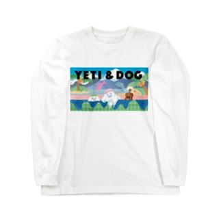 イエティ in the 銭湯  Long sleeve T-shirts