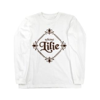 ユリ-Lilie- Long sleeve T-shirts